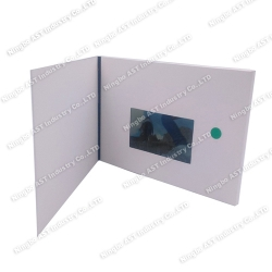 4.3inch LCD Video Brochure, Video Player Cards, Video Advertising Brochure