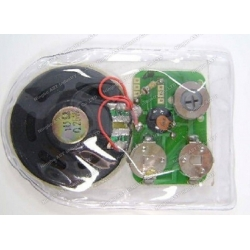 Waterproof sound module for children clothes,Waterproof sound chip for bibs, waterproof voice module