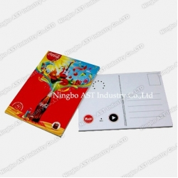 Recordable Post Card, Music Post Cards, Promotional Cards