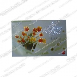 S-1107 Flashing Greeting Cards, Birthday Greeting Card, Promotional Card