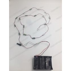 Motion sensor led module for pos,pop display,Led harness,flashing light display