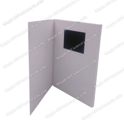 3.5inch Video Booklet, MP4 Player Brochure