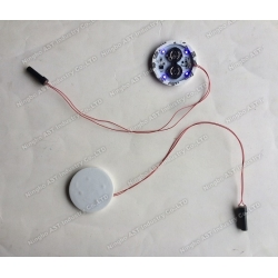 Motion sensor LED Flash Modules for cup,POP Display Flasher, LED Flashing Light, LED Light Module
