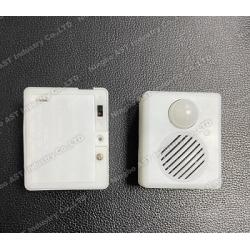 PIR Sensor sound box for Halloween PIR Motion sensor talking box as doorbell,doorkeeper