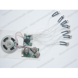 Multi Message Sound Module, Audio Chip