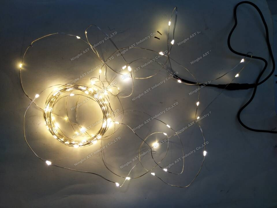 Garland Light for Christmas ,LED Copper Wire String Lights,Christmas LED copper string lights