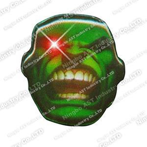 S-7008  Flashing Pin, Flashing Badge, LED Flashing Pin