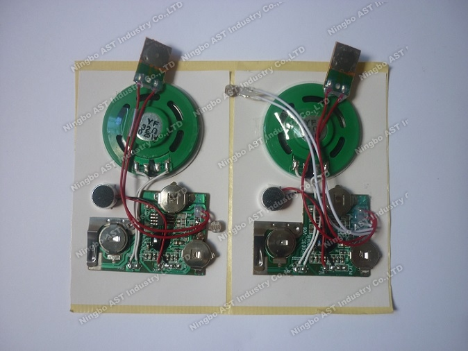 Light Sensor Recordable Sound Module