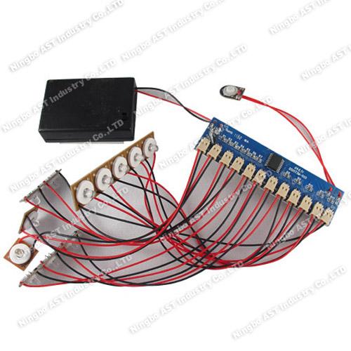 12 Led Flashing Module,pop Display Flasher,Led Light Module