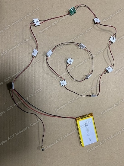 Rechargable led strip for POP Display