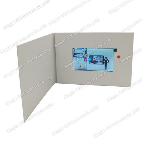 5.0 inch LCD Video Brochure,Video Brochuse Module, MP4 Greeting Cards