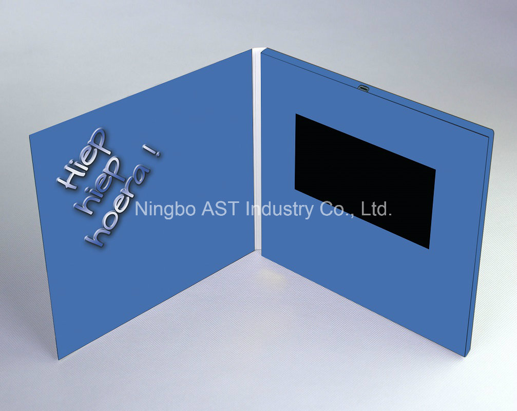 70 Inch Video Greeting Brochure Digital Invitation Card Mp4