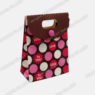 Music Paper Bag, Music Shopping Bag, Recordable Gift Bag