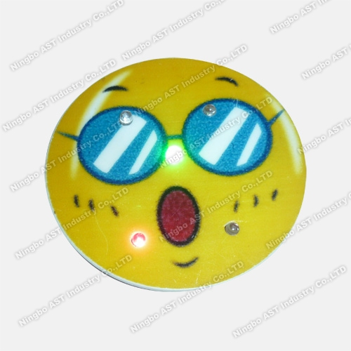 Flashing Pin, LED Flashing Badge, Promotion Gift, LED Pin