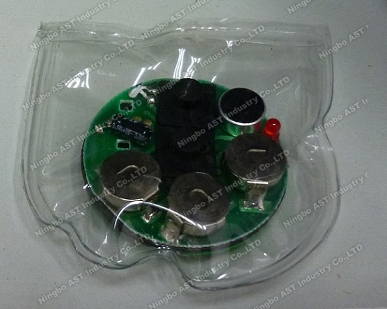 Recordable Waterproof sound module, Waterproof sound chip for bibs, waterproof voice module