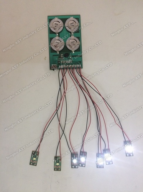 Led flashing module for pop display,led flasher,button light,waterproof led light