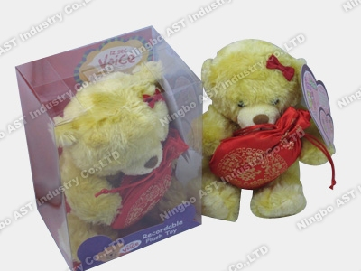 Love Bear Plush Toy, Plush Toy, Stuffed Toy