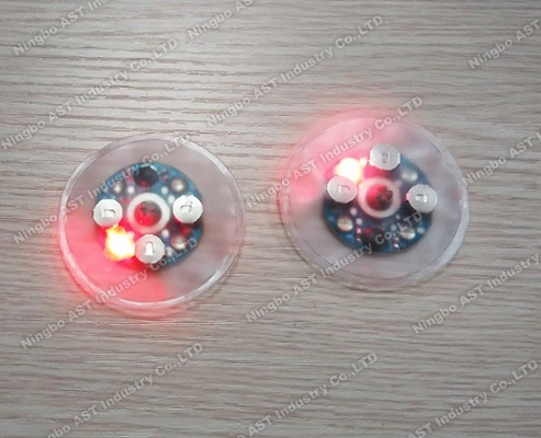 Waterproof sound module with led liggt,Waterproof sound chip for bibs, waterproof voice module