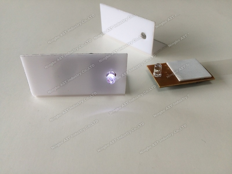 Acrylic display with LED Module,Led Acrylic box price label,Led Acrylic box for price tag