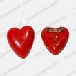 Red Heart Shape Badge, LED Flashing Badge, Promotion Gift