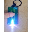 PVC Key chain with led