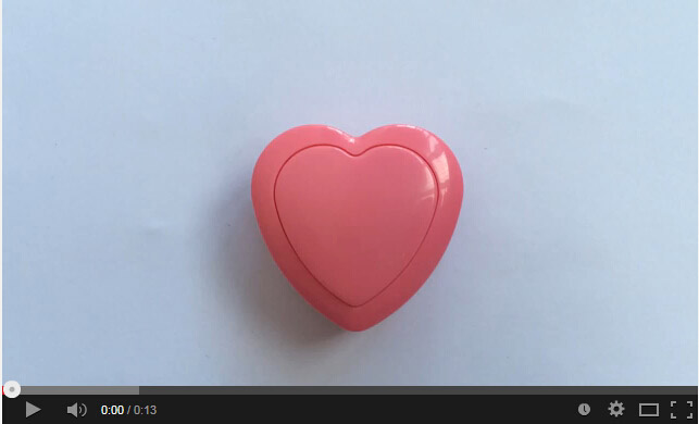 heartbeating box with sound and led function,heart beating box,Pulsing Device for Stuffed Toy